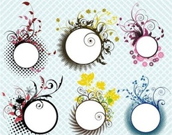 Elements,Flourishes & Swirls,Ornaments,Flowers & Trees,Patterns,Nature,Abstract,Shapes,Objects
