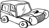 cartoon,car,caricature,media,clip art,public domain,image,svg