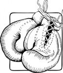 boxing,glove,outline,sport,fighting