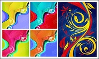 color,trend,pattern,material,abstract,element,design,element,element