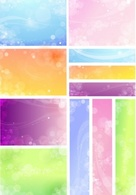 Backgrounds,Banners