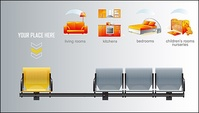 bench,chair,furniture,icon,vector,material