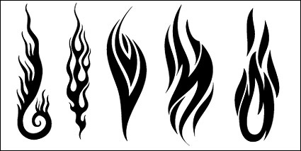 All Kinds Of Cool Fire Vector Logo 4 Free