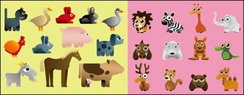 Animals,Cartoon