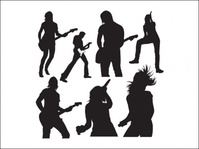 live,music,silhouette,people,_people,human,singer,musician,performer,concerts.selection,of,graphics,band,member,guitarist,singers.,dance,fruit,live music