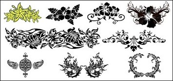 Patterns,Flowers & Trees,Ornaments