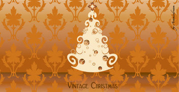 Vintage,Holiday & Seasonal,Flowers & Trees,Backgrounds