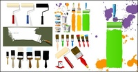 paint,brush,vector,material