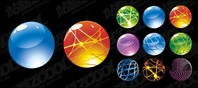 round,crystal,ball,icon,vector,material