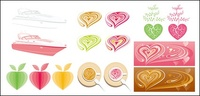 pink,series,vector,graphics,material
