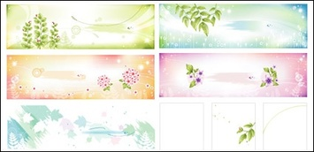 Flowers & Trees,Backgrounds