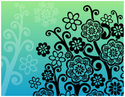 Flowers & Trees,Flourishes & Swirls,Backgrounds,Ornaments