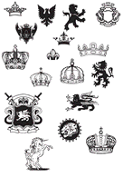 Logo,Objects,Military,Animals,Elements,Ornaments