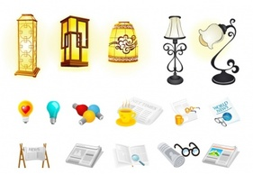 Icons,Objects,Regional,Elements