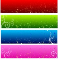Banners,Backgrounds