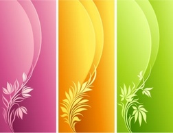 Flourishes & Swirls,Banners,Backgrounds,Flowers & Trees
