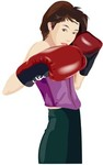 boxing,sport,lady,girl,glove