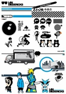 Human,Transportation,Cartoon,Miscellaneous,Objects