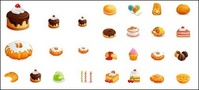 western,style,cake,vector,icon