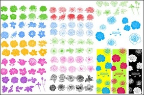 Patterns,Flowers & Trees