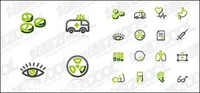 vector material,vector pill,ambulance,heart,eye,medical,text,medicine,the test tube,lung,arm,teeth,spectacle,child,baby,yaoxiang,eps format,simple,lin,graphics,material