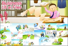 Business,Cartoon,Elements