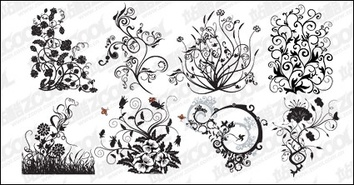 Ornaments,Patterns,Flowers & Trees