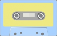 audio,tape,sound,music,media,clip art,how i did it,public domain,image,svg,png