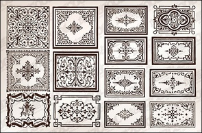 Regional,Patterns,Ornaments