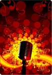 microphone,party,light