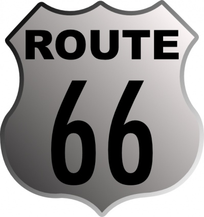 U.S. Route 66 Interstate 40 Road PNG, Clipart, Area, Black, Black And  White, Brand, Clip Art