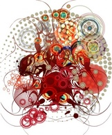 Abstract,Flourishes & Swirls,Shapes,Backgrounds,Vintage