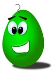 green,comic,egg,eastern,funny,media,clip art,public domain,image,png,svg