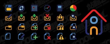 Web Elements,Cartoon,Icons