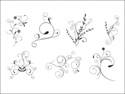 Ornaments,Flourishes & Swirls