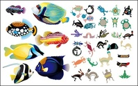animal,fish,realistic,abstract,material
