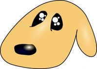 ericlemerdy,cute,sad,dog,media,clip art,public domain,image,png,svg