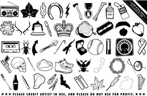 Icons,Objects