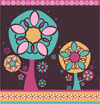 Nature,Flowers & Trees,Ornaments,Abstract