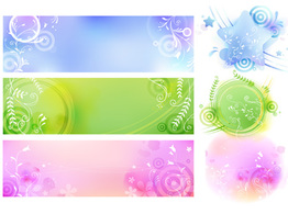 Abstract,Banners,Backgrounds,Flourishes & Swirls