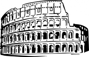 Free Download Of Clip Art De Coliseo Romano Vector Graphic Vectorme
