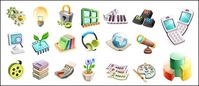 cute,exquisite,three,dimensional,icon,vector,material