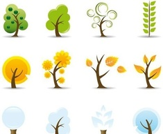 Flowers & Trees,Icons