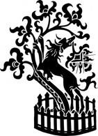 Flowers & Trees,Silhouette,Ornaments,Animals