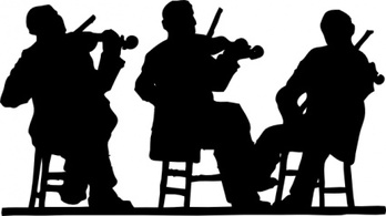 Music,Silhouette