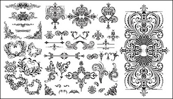 Regional,Patterns,Flourishes & Swirls,Flowers & Trees,Objects,Nature,Shapes,Silhouette