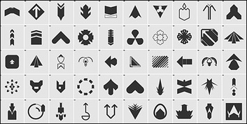 Shapes,Icons