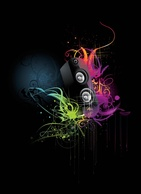 Music,Spills & Splatters,Grunge,Flourishes & Swirls,Abstract,Elements,Backgrounds,Shapes,Objects