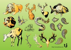 Animals,Elements,Nature