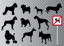 Animals,Shapes,Silhouette